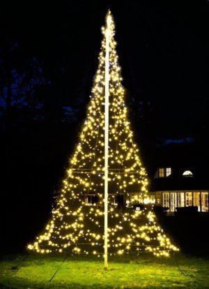 Tannenbaum Lichterkette Led.Fairybell Lichterketten Weihnachtsbaum 6m Mit 960 Led Für Den Fahnenmast