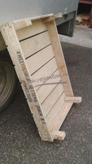 Holz-Hand-Karre
